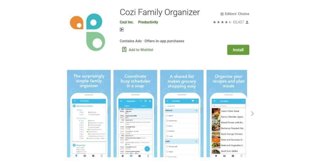 cozi-family-organizer-app