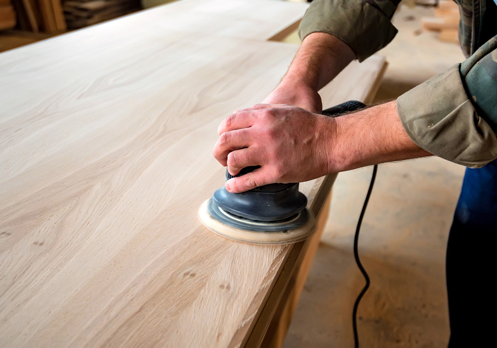 sanding-the-surface
