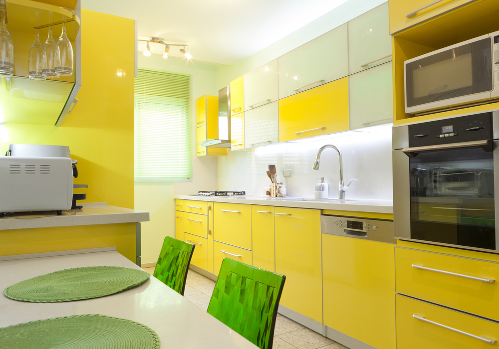 yellow-color-kitchen