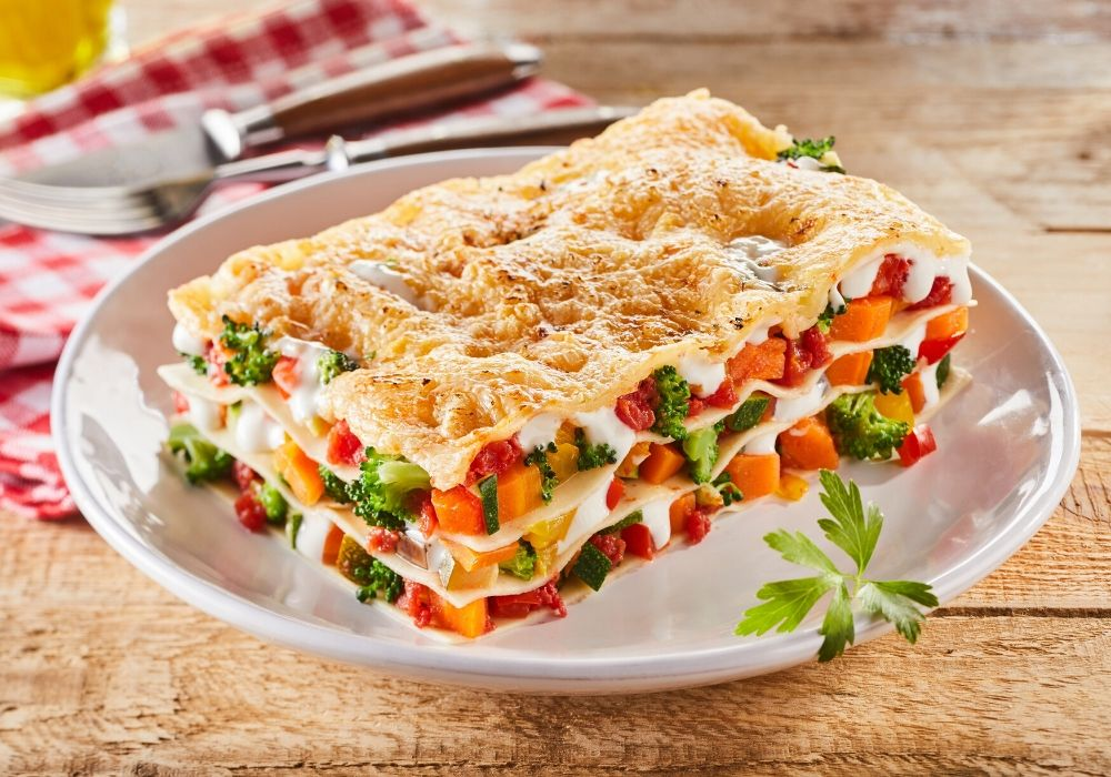 vegetable-lasagna-with-mozzarella