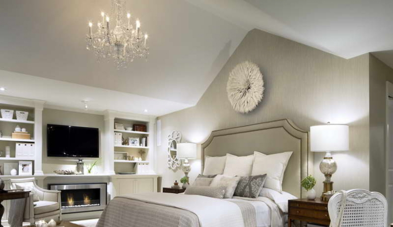 Bedroom Chandelier Light