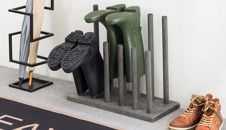 Boot Storage Rack