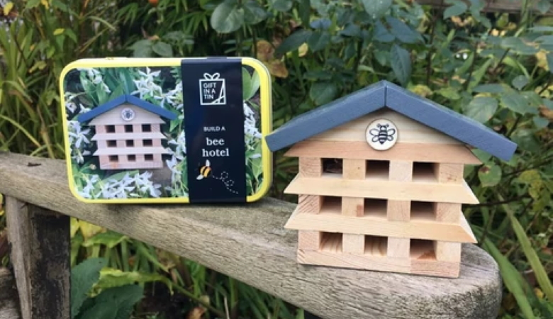 Build a Bee Hotel Gift in a Tin