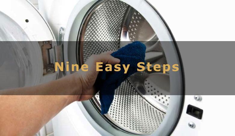 Clean Washing Machine - Nine Easy Steps