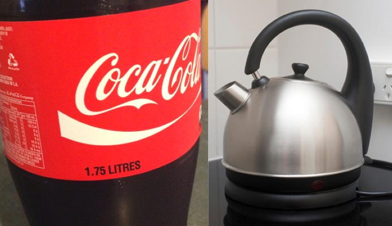 Coke to Descale a Kettle