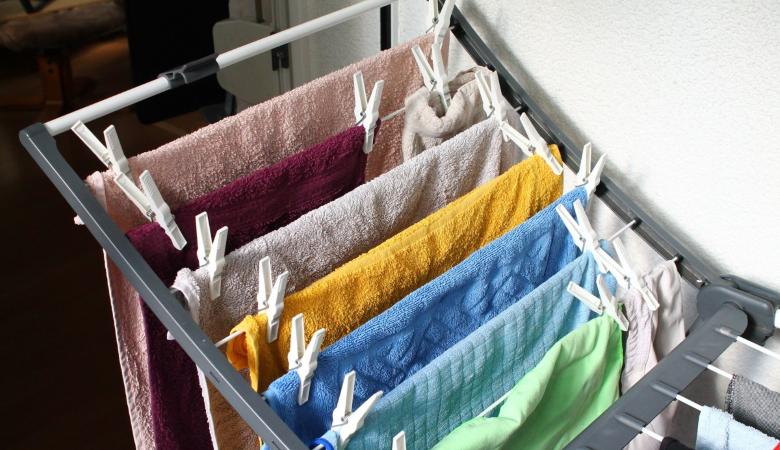 Dry Laundry Inside