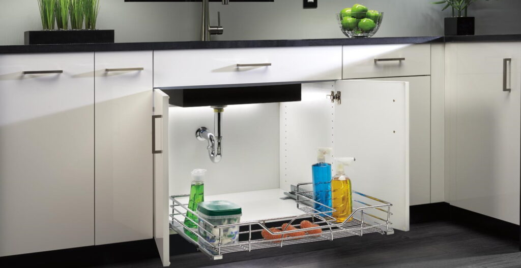 How To Organise Your Under-Sink Cabinet?