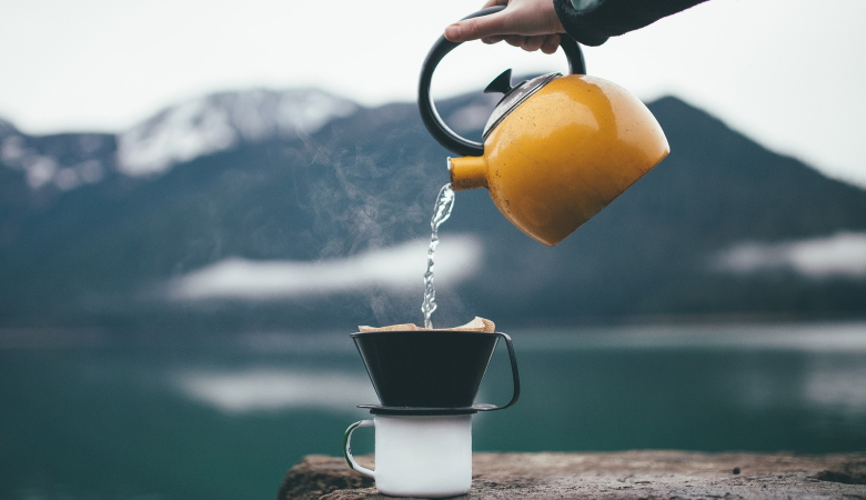 Kettle and a Cup of Tea