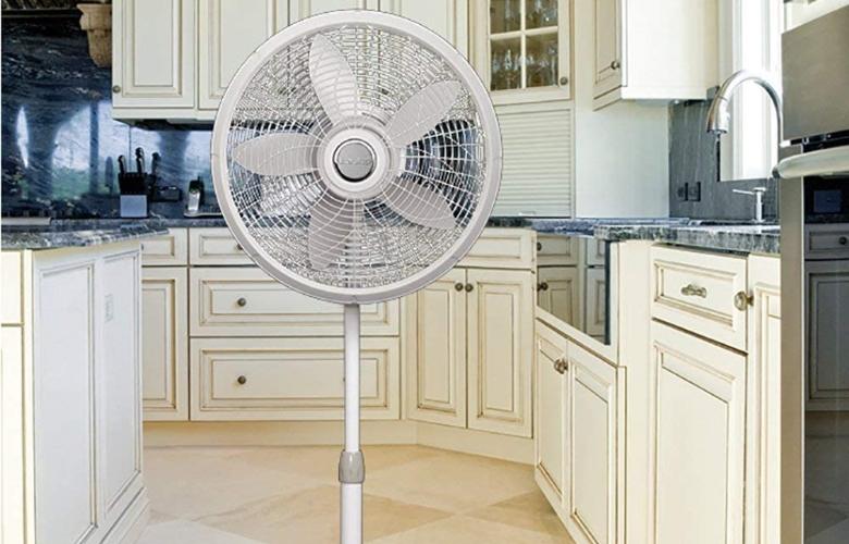 Lasko 1820 18″ Elegance & Performance Adjustable Pedestal Fan