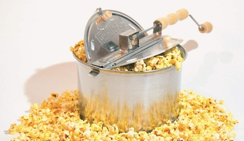 Wabash Valley Farms Stovetop Popcorn Popper With Metal Gears
