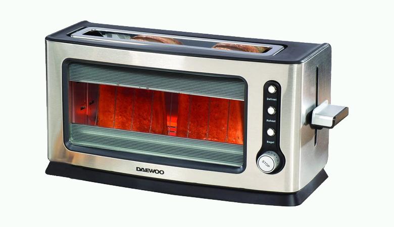 Daewoo Glass Toaster