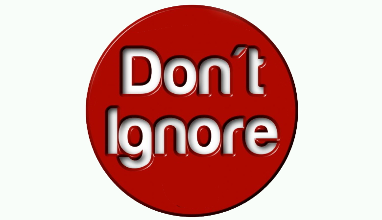 Dont Ignore