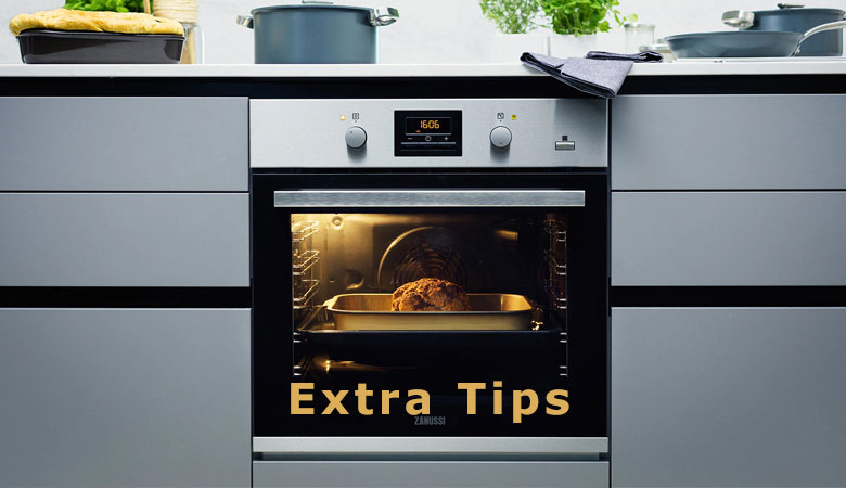 Extra Tips For Removing Built in-Oven