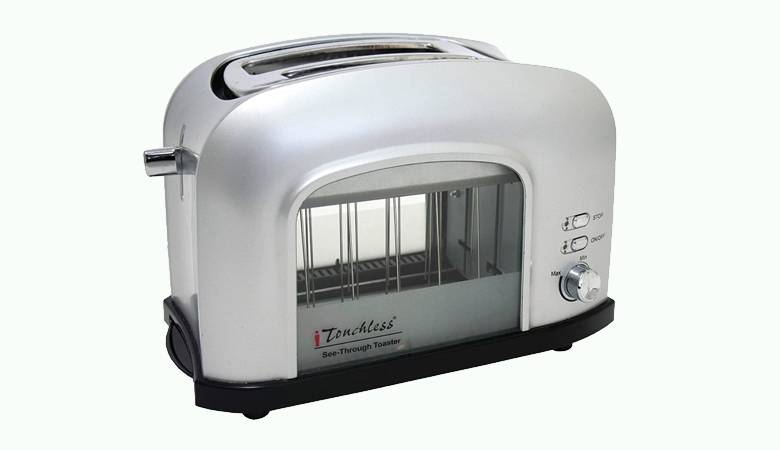 See-Through Toaster Touchless