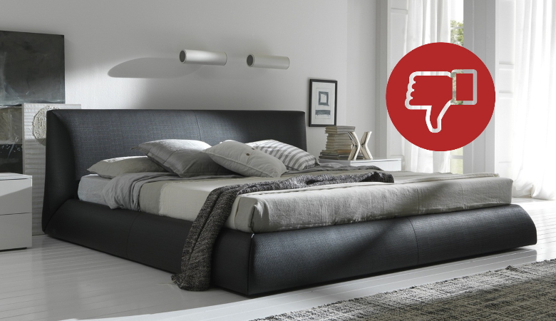 King Size Bed Drawbacks